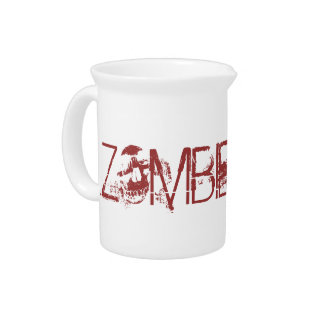 Zombie Juice Funny Halloween Party Props Beverage Pitcher