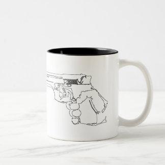 Zombie Junkies! Aim For The Head Coffee Mug