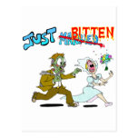 Zombie Just Married Postcard