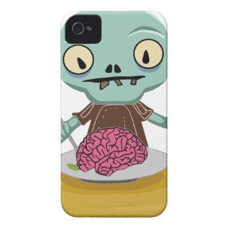 zombie kid eating brain iPhone 4 case