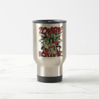 Zombie Killer 15 Oz Stainless Steel Travel Mug