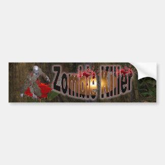 Zombie  Killer #2 Bumper Sticker Car Bumper Sticker