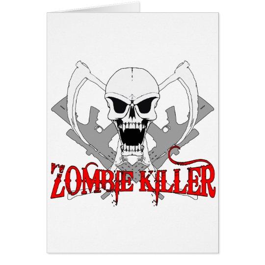 zombie killer 3 card