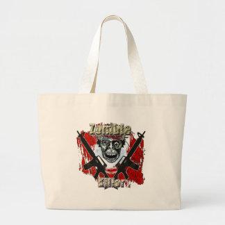 Zombie Killer 4 Large Tote Bag