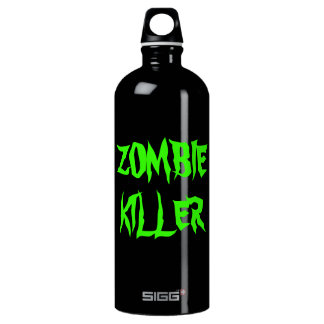 Zombie Killer Aluminum Water Bottle