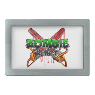 Zombie Killer Belt Buckle