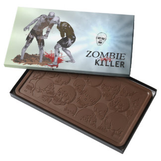 Zombie Killer Chocolate 2 Pound Bar