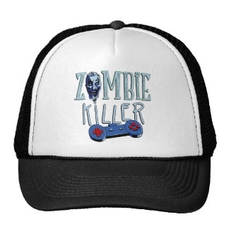 Zombie killer CONSOLE PC CONTROLLER more gamer Trucker Hat