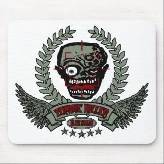 Zombie Killer Elite Squad Mouse Pad