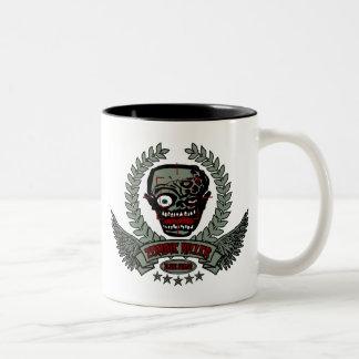 Zombie Killer Elite Squad Two-Tone Coffee Mug