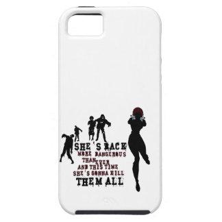 Zombie killer girl iPhone SE/5/5s case