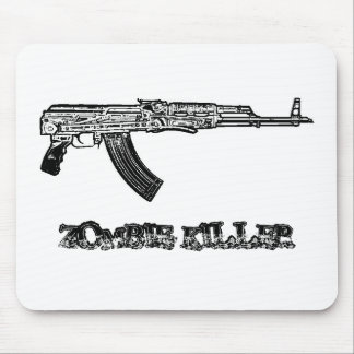 Zombie Killer Mouse Pad