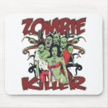 Zombie Killer Mousepad