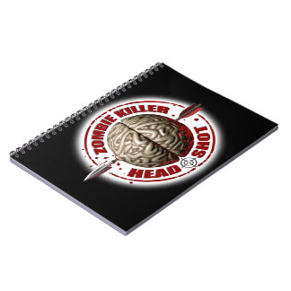 Zombie Killer Spiral Note Book