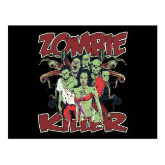 Zombie Killer Postcard