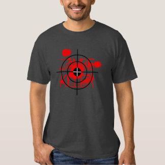 Zombie Killer t shirt with blood splatter