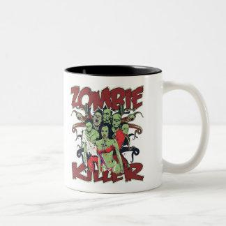 Zombie Killer Two-Tone Coffee Mug