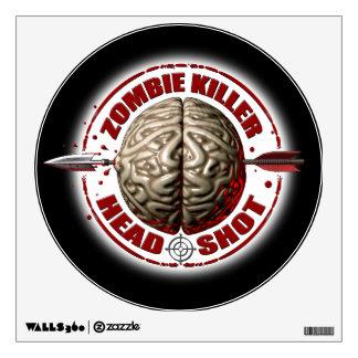 Zombie Killer Wall Sticker