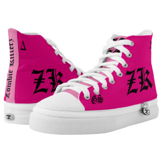 zombie Killerz™ ghost sneakers Printed Shoes