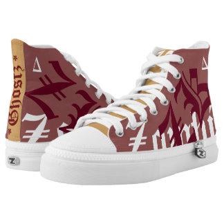 Zombie Killerz™ Ghostz® Sneakers. Printed Shoes