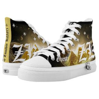 zombie killerz printed shoes
