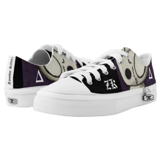 Zombie Killerz™ stitches sneakers ghost squad Printed Shoes