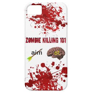 Zombie Killing 101 (aim arrow at brain) iPhone SE/5/5s Case