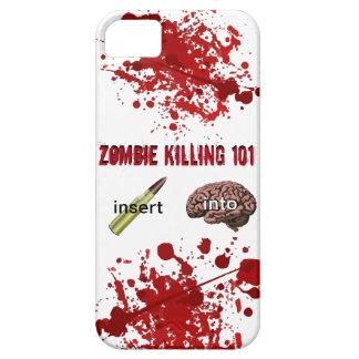 Zombie Killing 101 (insert bullet into brain) iPhone SE/5/5s Case