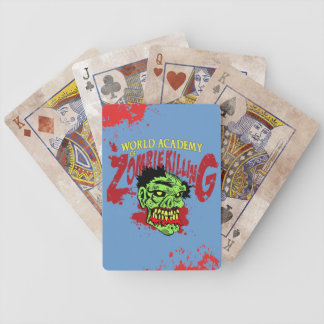 Zombie Killing Playing Cards