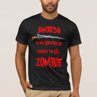 Zombie Killing Weapon T-Shirt