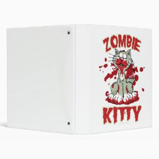 Zombie Kitty Vinyl Binders