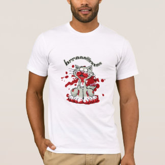 Zombie Kitty Brains!! T-Shirt