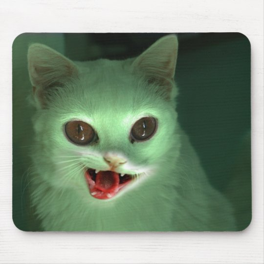 Zombie Kitty Mouse Pad