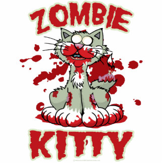 Zombie Kitty Cut Out
