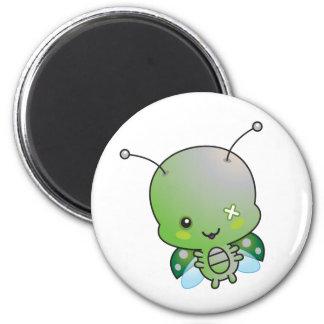 Zombie Ladybug Magnet