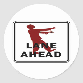 Zombie Lane Sticker