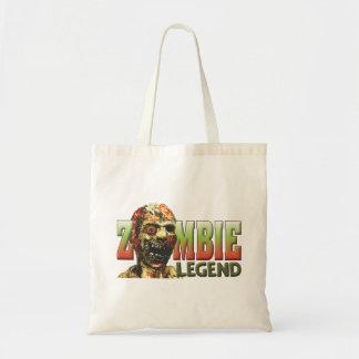 Zombie Legend Canvas Bags