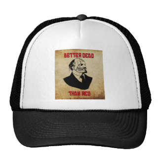 Zombie Lenin; Better Dead Than Red Trucker Hat