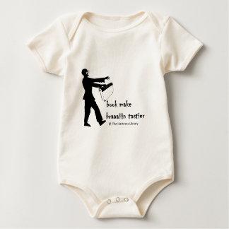Zombie Librarian Baby Bodysuit