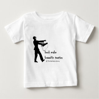 Zombie Librarian Baby T-Shirt