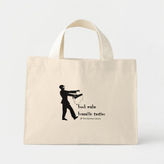 Zombie Librarian tote
