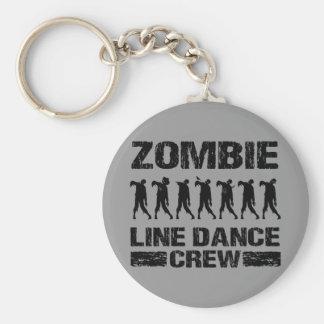 Zombie Line Dance Crew Keychain