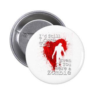Zombie Love 2 Inch Round Button