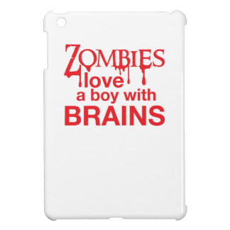 Zombie love a boy with brains cover for the iPad mini