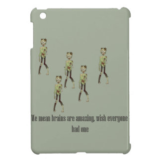 Zombie love brains iPad mini case