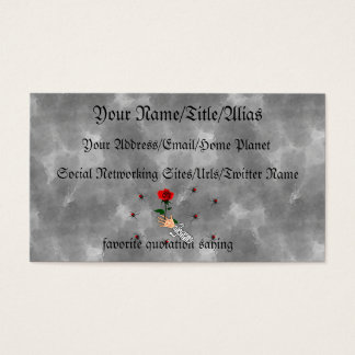 Zombie Love Business Card