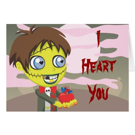 zombie love cards
