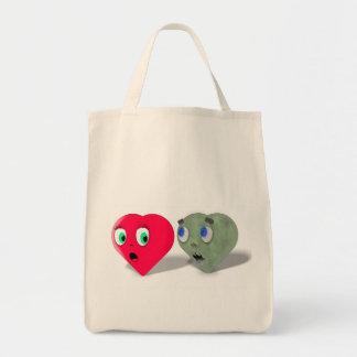 Zombie Love Grocery Bag