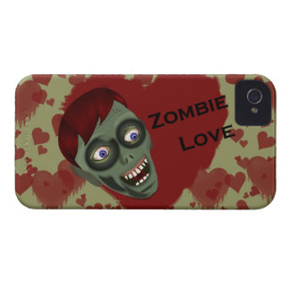 Zombie Love iPhone 4 Barely There Case
