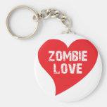 Zombie Love Key Chains